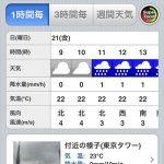 天気予報おすすめiOSアプリ「ウェザーニュース タッチ」